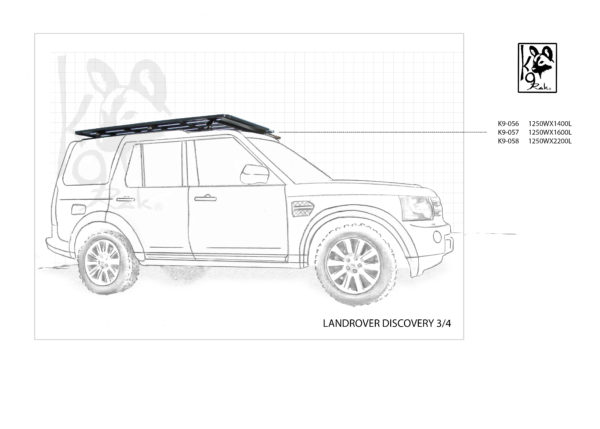 K9-058 - Landrover, Discovery 3/4