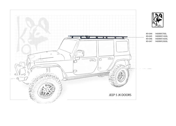 K9-044 - Jeep, Jk 5 Doors