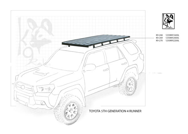 K9-268 - Toyota, 5th Generation 4 Runner