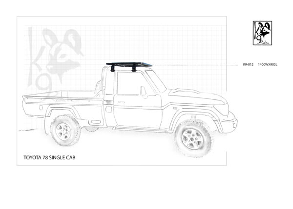 K9-012 - Toyota, Landcruiser 78 Single Cab