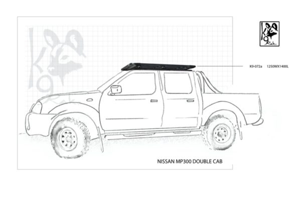 K9-072a - Nissan, Mp300 Double Cab