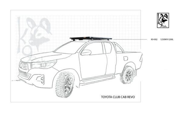 K9-001Revo - Toyota, Hilux Xtra Cab Revo