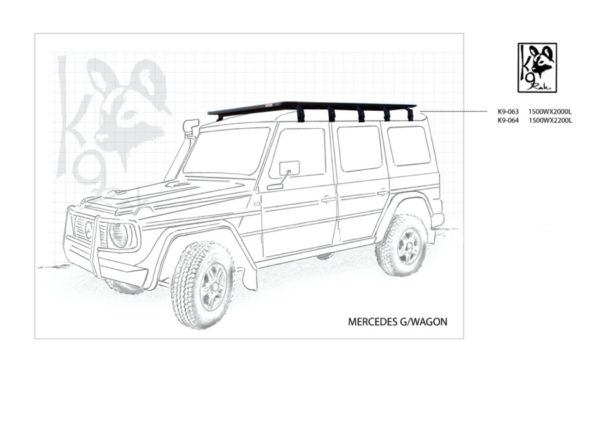 K9-063 - Mercedes, G/wagon