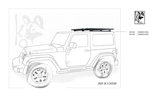 K9-042 - Jeep, Jk 3 Doors