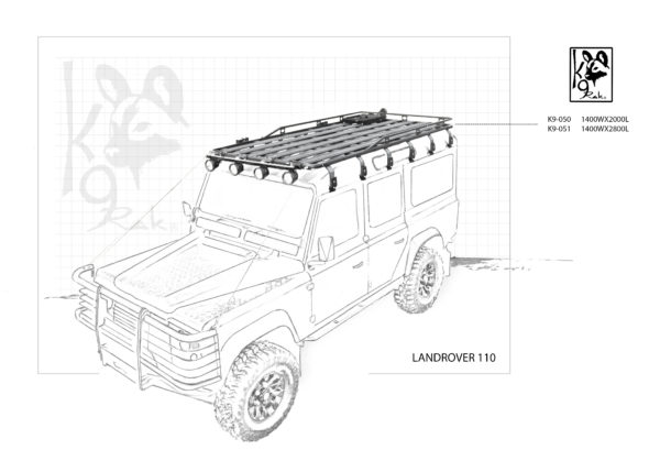 K9-050 Expedition - Landrover, Defender 110